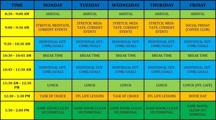 schedule ffl